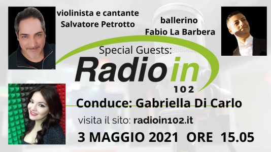 In esclusiva intervista a petrotto , di rosalia e la barbera su radio in e tele one